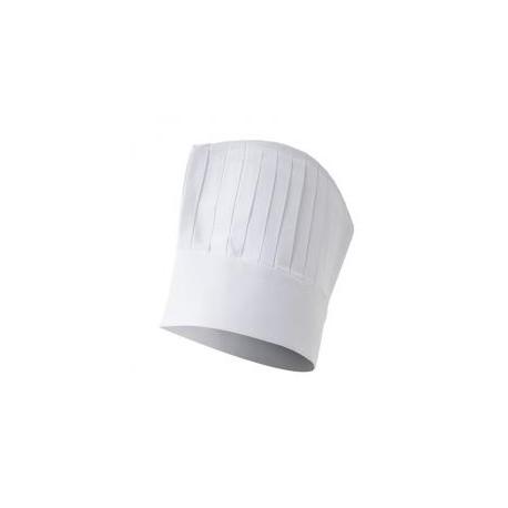 Gorro de cocinero con rejilla en la parte superior