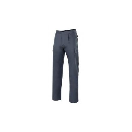 Pantalon multibolsillos algodon